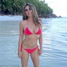 FOW 24 NEWS: Age-Defying Liz Hurley, 52, Shows Off Her Toned Fi...