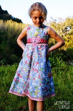 UNIQUE dress pattern, farbenmix.de