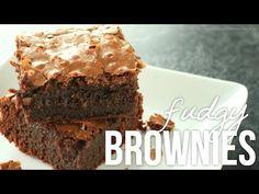 Homemade Fudgy Brownies!! How to Make Fudge Brownie Recipe - YouTube