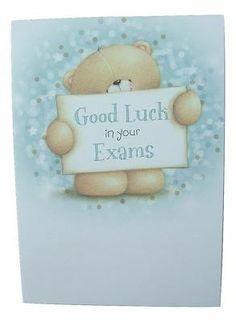 Good Luck For Exams, Good Luck Quotes, Cute Bears, Friends Forever, Honey, Teddy Bear, Ebay, Good Luck, Stylish Dresses