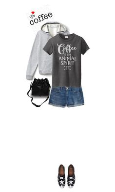 """""""OOTD ~ I've Got Spirit!"""" by idocoffee ❤ liked on Polyvore featuring Lacoste, J.Crew and Givenchy"""