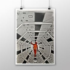 $26 Collection of posters inspired at the iconic movie 2001 - space odyssey created by Fernando Tucunduva. ©Freckles, 2014.