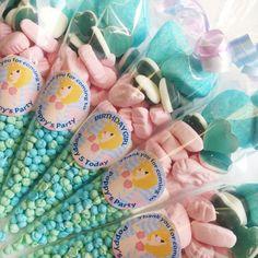 Personalised Mermaid Under the Sea Sweet cones | Sweet Cones | www.fabulouspartyware.com