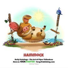Hammock by Piper Thibodeau