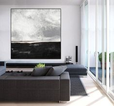extra large wall art, living room wall art original oil painting, modern wall art, large abstract painting on canvas, large abstract Abstract Landscape Painting, Seascape Paintings, Abstract Oil, Abstract Wall Art, Acrylic Painting Canvas, Landscape Paintings, Large Painting, Painting Art, Knife Painting