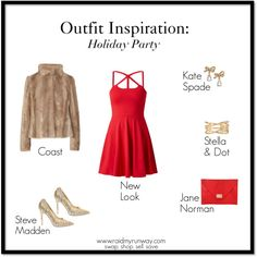 Outfit Inspiration: Holiday Party   swap. shop. sell. save. www.raidmyrunway.com