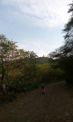 De paseo en la cumbre