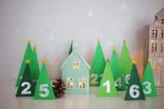 Wiener Wohnsinn: winter wonderland advent calendar