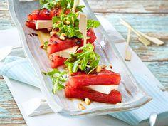Wassermelonen-Feta-Sandwich Rezept   LECKER