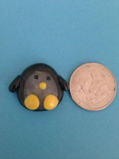 Polymer Clay Penguin by KookyKlay on Etsy, $5.00