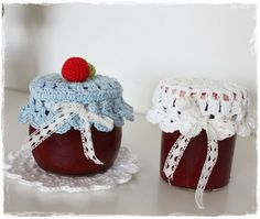 FREE Crochet Jar Lid Pattern and Tutorial