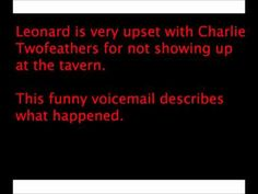 The funniest voicemails ever transcribed and added to Youtube.