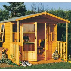 Milton Summerhouse in T&G (8' x 8') - £715.00 Various sizes available