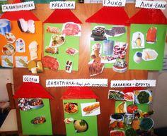 S o f i a' s K i n d e r g a r t e n: Μαθαίνουμε για την ΔΙΑΤΡΟΦΗ μας στο νηπιαγωγείο School Programs, Gift Wrapping, Nutrition, Teaching, Fruit, Vegetables, Projects, Blog, Gifts