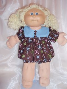 Cabbage Patch Dress and Panties by Karensdollkreations on Etsy