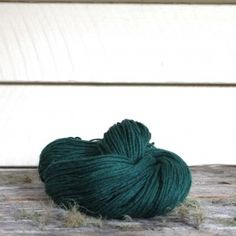 Harvest Wool- Rainforest, 100% merino *ply, 100 grams , naturally dyed from pomegranate rind and indigo