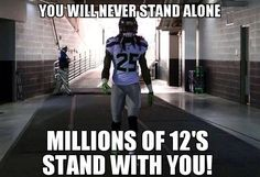 Seattle Seahawks - We've got your back!!!