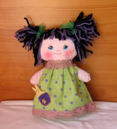 EmmiLou – an adorable little doll :) Little Doll, My Childhood, Harajuku, Dolls, Baby Dolls, Puppet, Doll, Baby, Girl Dolls