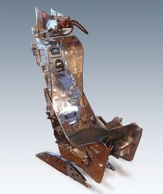Aces Ejection Seat Replica Assembled Painted And