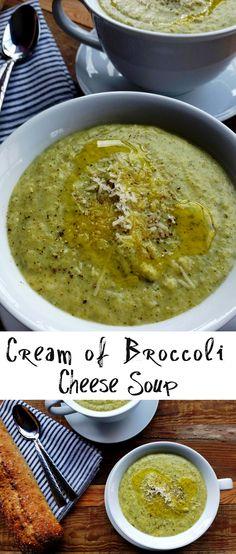 Cream of Broccoli Cheese Soup