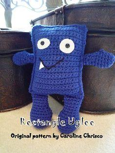 Rectangle Uglee Free crochet Pattern by The Kansas Hooker