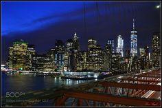 Manhatttan desde el Puente de Brooklyn -