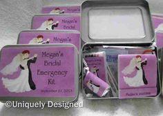 Bridal Emergency kit-custom made by UniquelyDesigneditem on Etsy