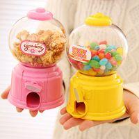 Bebé bricolaje caramelo Favors Sweet Candy Machine Colorful ahorro del banco guarro de la moneda caja para cocina para hornear decoración regalos de los niños