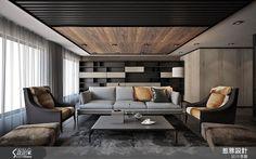 THEE dseign group 2018 work Suzhou garden Modern Apartment Design, Condo Design, Living Room Interior, Home Living Room, Living Room Decor, Fancy Houses, Living Styles, Contemporary Interior Design, Beautiful Living Rooms
