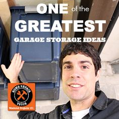 Who Else Wants One of the Greatest Garage Storage Ideas Ever?