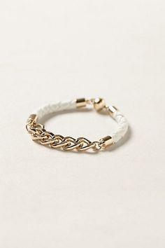 braided leather rope bracelet
