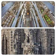 Barcelona - La Sagrada Familia! If there's one piece of architecture which defines Barcelona, this is it. Gaudí's breathtaking unfinished basilica is a feast for the eyes, so give yourself plenty of time to examine every detail, inside and out.