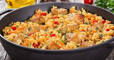 Snacks For Work, Paella, Fried Rice, Ethnic Recipes, Food, Recipes, Kitchens, Essen, Nasi Goreng