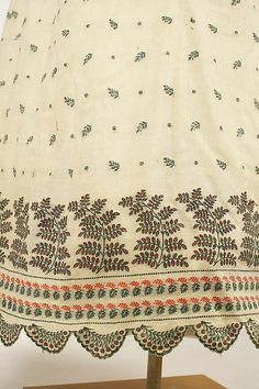 Dress Date: 1806–10 Culture: French Medium: cotton Dimensions: Length at CB: 43 in. (109.2 cm) Credit Line: Purchase, Irene Lewisohn Bequest, 1964 Accession Number: C.I.64.36