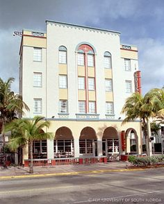 The Edison, which was built in 1935 ~ South Beach, Miami.