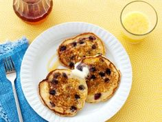Get this all-star, easy-to-follow Lemon Blueberry Pancakes recipe from Ree Drummond