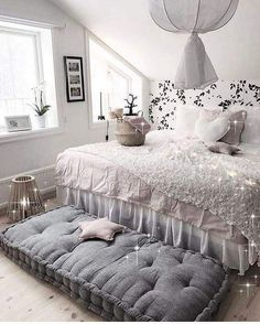 I like the idea of a cushion being at the end of the bed instead of a bench or ottoman