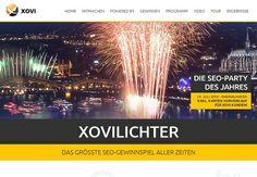XOVI, Anbieter der bekannten SEO-Software zur Keyword-und Backlink-Überwachung, hat einen neuen SEO-Contest gestartet. Ziel dieser Keyword-Challenge ist es, die eigene Website zum Keyword XOVILICHTER bis zum 19. Juli 2014 möglichst weit in den Suchergebnissen von Google zu bringen.  XOVILICHTER Anlässlich der neu