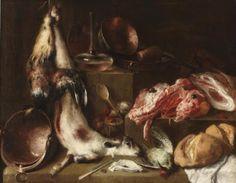 Bodegón de cocina by Mateo Cerezo