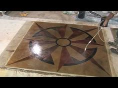Acrylic Concrete Sealer Application