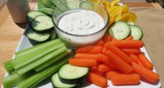 Greek Yogurt & Ranch Dressing mix... Ranch dip for 18 calories per 2 tablespoons!