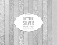 #silver #textures #brushed #backgrounds #metallic #foil