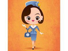 Pan Am Christina Ricci | Illustrator: Jerrod Maruyama