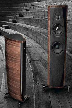 High End Speakers, High End Hifi, Tower Speakers, High End Audio, Audiophile Speakers, Hifi Audio, Speaker Plans, Audio Engineer, Car Sounds