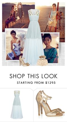 """In My Way"" by bklana ❤ liked on Polyvore featuring moda, Delpozo, Jimmy Choo y Alexander McQueen"