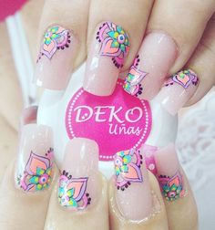 You searched for Manicura - BeautyTime Elegant Nail Designs, Elegant Nails, Cute Nail Designs, Love Nails, Pretty Nails, Mandala Nails, Manicure E Pedicure, Tips & Tricks, Finger
