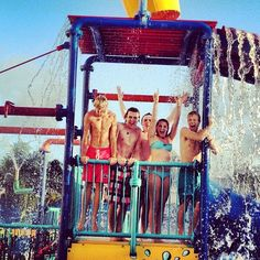 water park!   lol ross...?