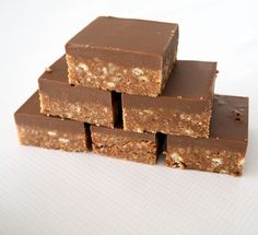 No Bake Chocolate Caramello Slice Recipe