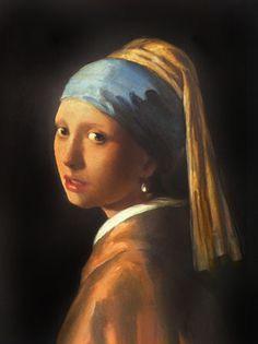 Jan Veermer La ragazza con l'orecchino di perla