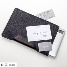 #Repost @ocabj ・・・ Picked up a @byrdandbelle sleeve for my recently acquired #Apple #MacBook Air. Handmade in Minneapolis, MN. #USA #America